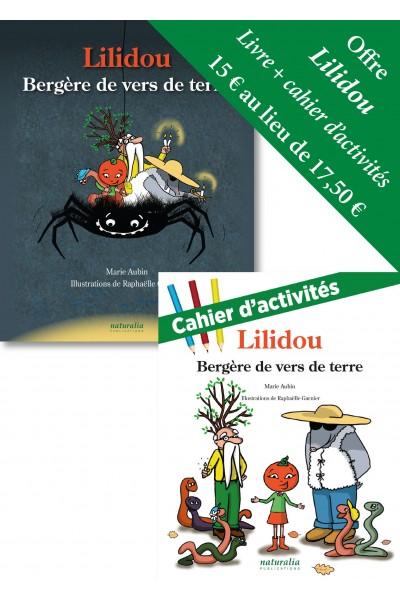Duo cahier d'activités et livre Lilidou, bergère de vers de terre