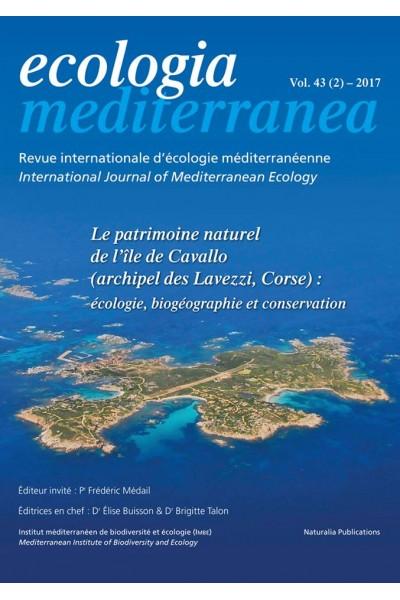 Ecologia mediterranea Vol. 43 (2) - 2017