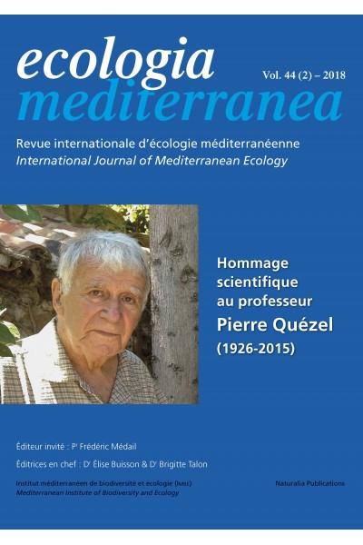 Ecologia mediterranea Vol. 44 (2) – 2018