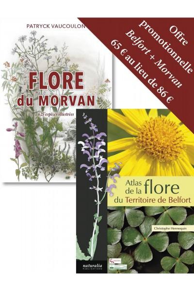 Offre promotionnelle Flore du Territoire de Belfort + Flore du Morvan
