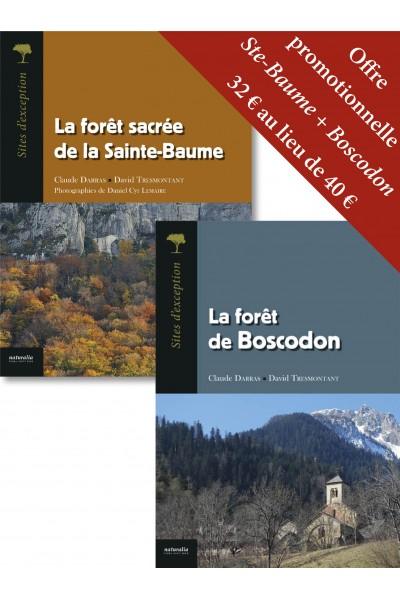 Offre promotionnelle La forêt sacrée de la Sainte-Baume + La forêt de Boscodon