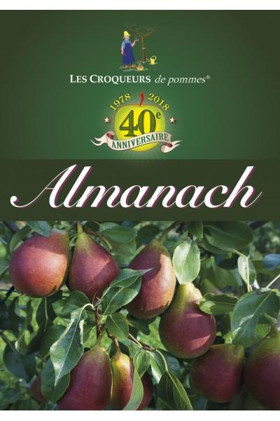 Almanach 2018 des croqueurs de pommes