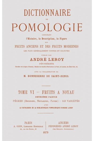 Dictionnaire de pomologie, tome VI : Pêches